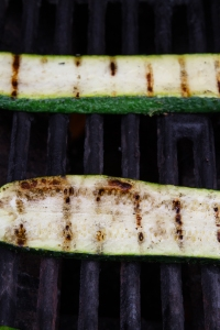 zukes on grill